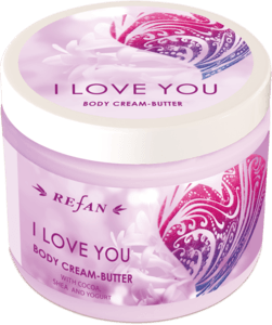 I love you BUTTER-CREMA PER CORPO
