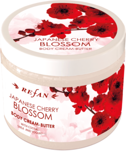 Japanese cherry blossom Butter crema peril corpo