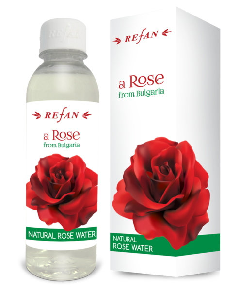 L'acqua di rose naturale