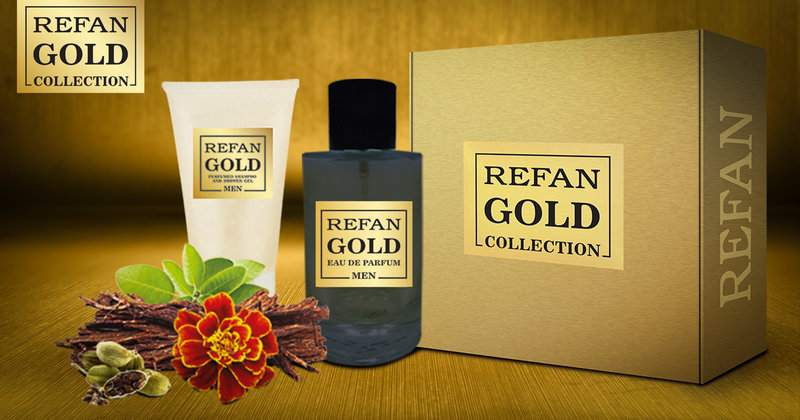 SET REFAN GOLD COLLECTION MEN 211
