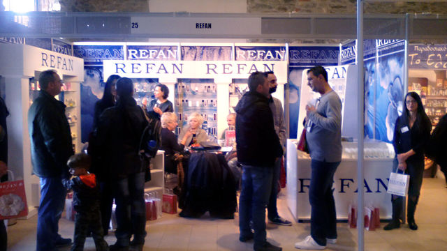 """Refan Bulgaria"" LTD at  KEM FRANCHISE EXPO -  Thessaloniki, Greece"