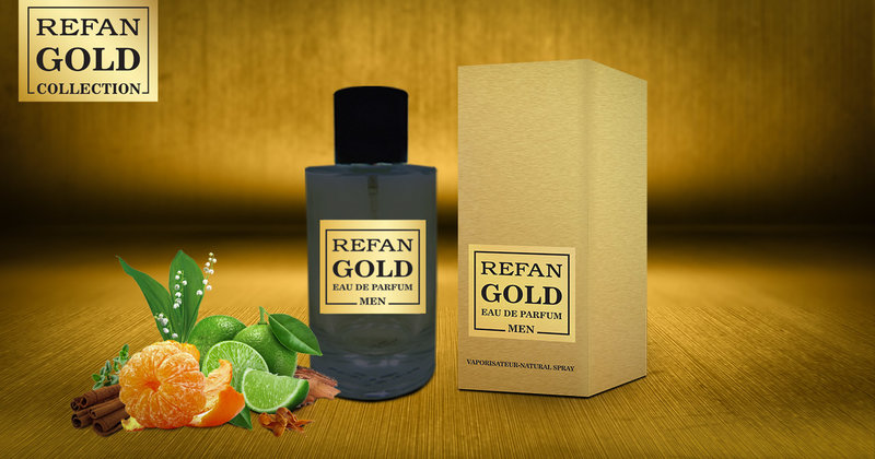 EAU DE PERFUM REFAN  GOLD  MEN  214