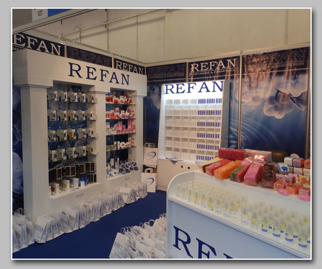 The most attractive stand at Beauty Forum Macedonia Summer 2015 that attracted thousands of connoisseurs of beauty