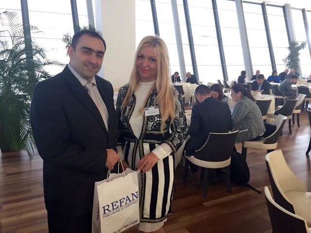 """Refan Bulgaria"" was take part in a business forum in Azerbaijan"