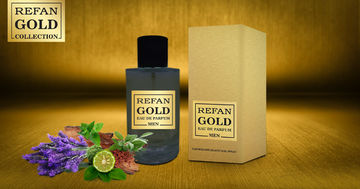 REFAN GOLD COLLECTION MEN EAU DE PERFUM REFAN  GOLD  MEN  203