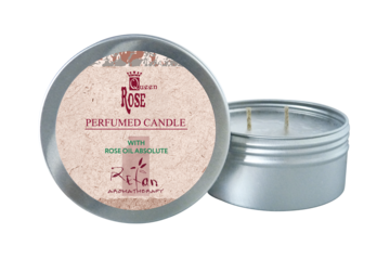 Candela Profumate candele Perfumed candle Queen Rose