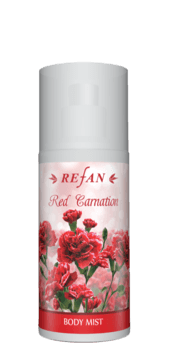 Red Carnation Spray per il corpol