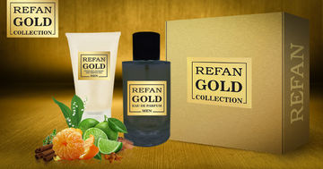 REFAN GOLD COLLECTION REFAN GOLD COLLECTION SET SET REFAN GOLD COLLECTION MEN 214