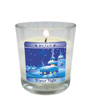 Candela Candele di Natale Winter Night