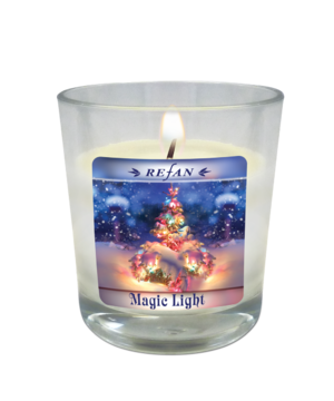 Candela Candele di Natale Magic light